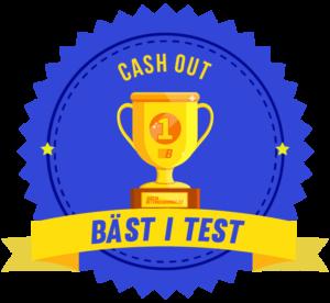bäst i test cash-out bettingsida